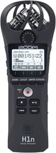 Zoom H1n podcast recorder