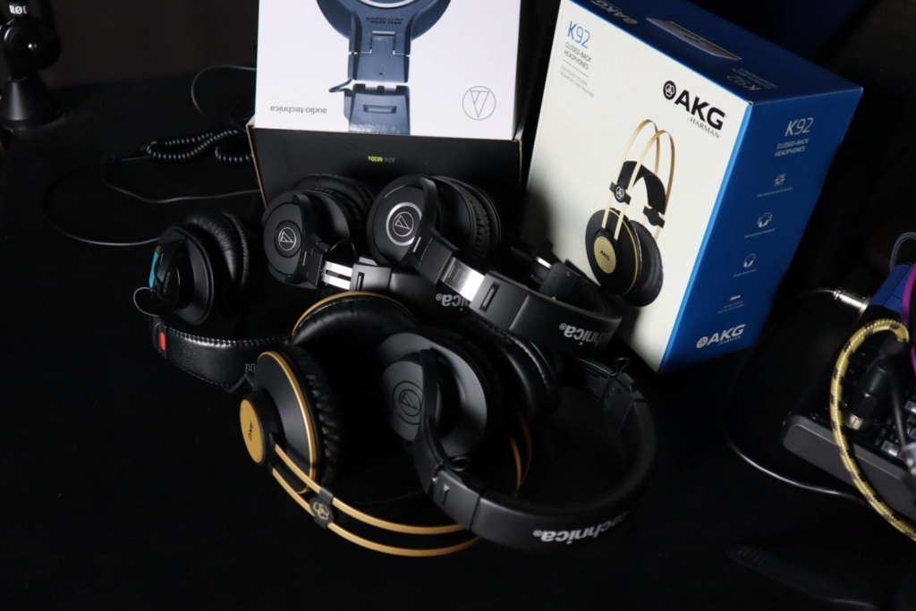 Headphones for Podcasting roundup