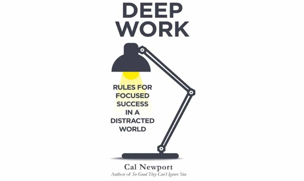 Deep Work - finding time to podcast