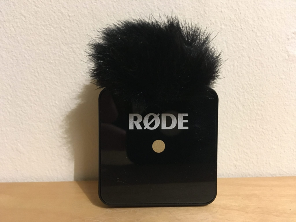 RODE Wireless Go lav mic with Windshield