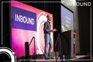 Colin Gray speaking at Inbound