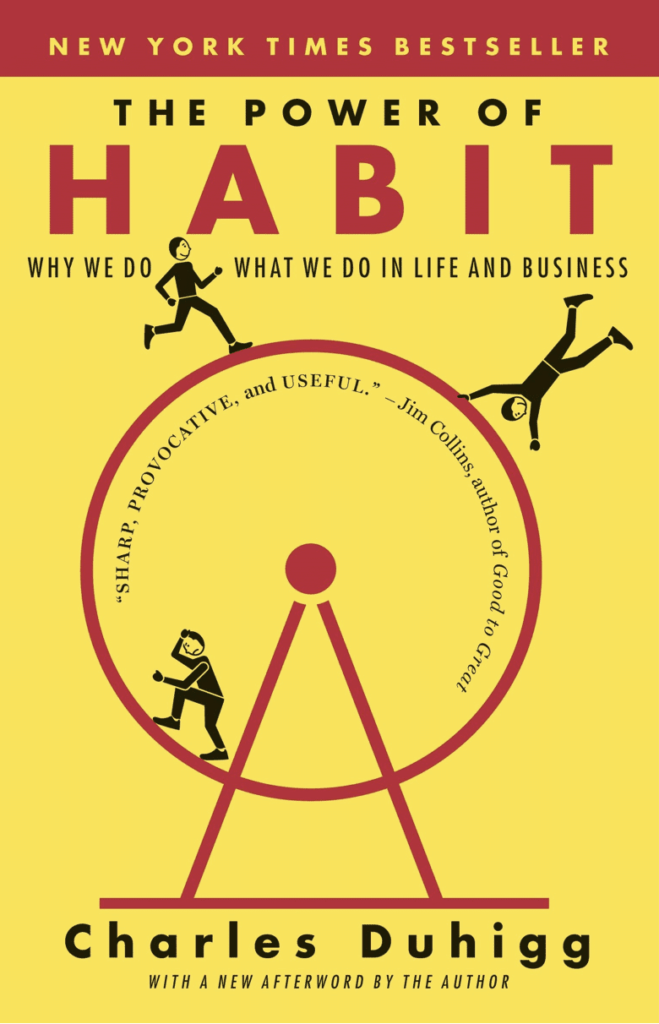 Cover of the book The Power of Habit by Charles Duhigg.