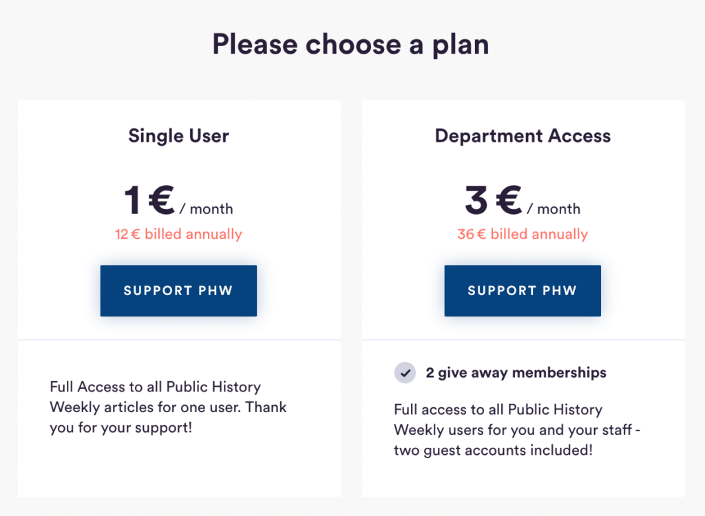 Payment plans on the Steady membership platform