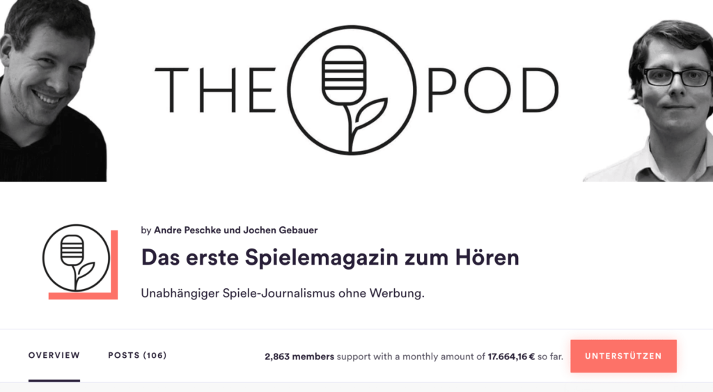 The Pod success on Steady