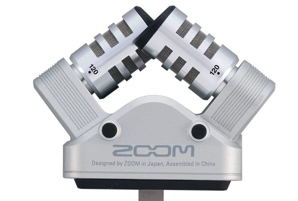 Zoom iQ6 microphone for iPhone