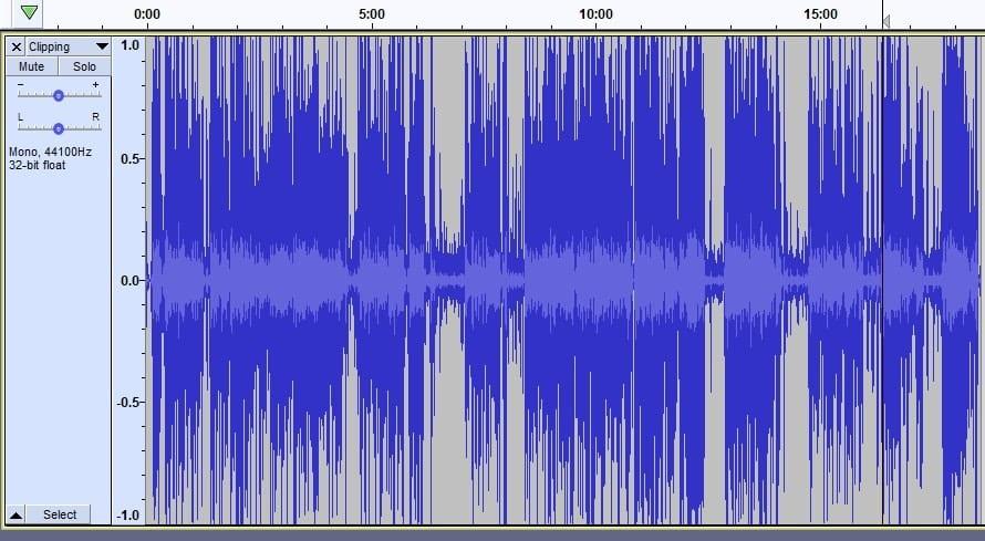 Clipping audio - podcast lingo