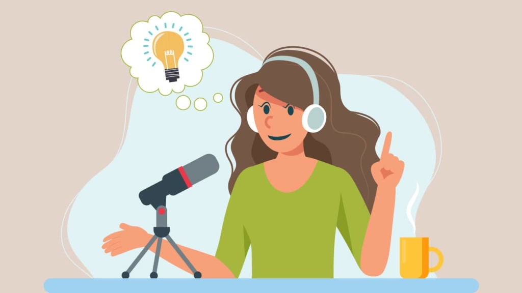 podcaster has a new idea