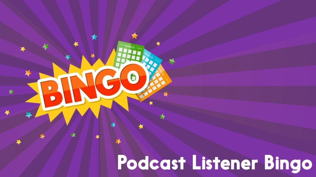 podcast listener bingo