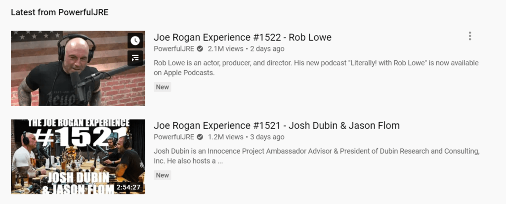 Hey, as far as we can tell, Joe Rogan (who runs JRE, one of the most downloaded podcast ever) only has one other team member.
