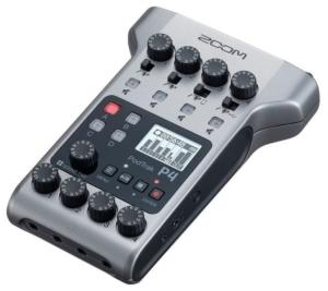 zoom podtrak p4 digital recorder