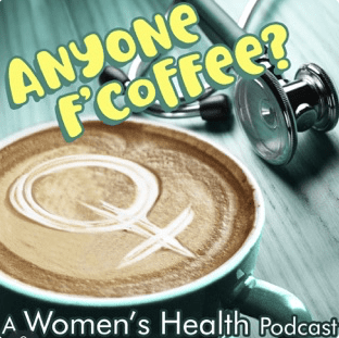 Anyone F'Coffee podcast art