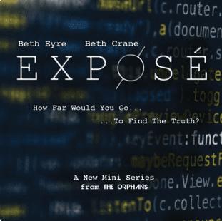 The Orphans Exposé podcast art