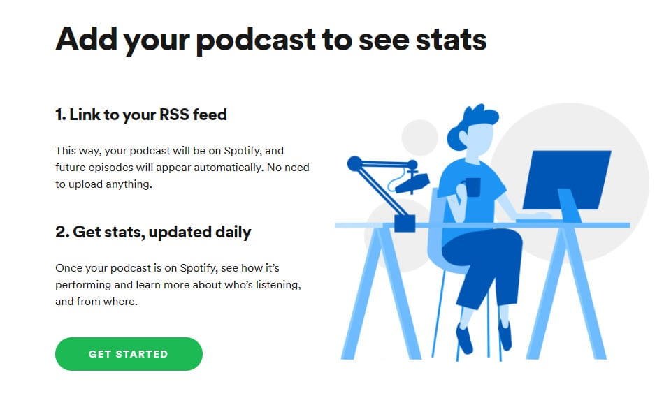 add your podcast to Spotify