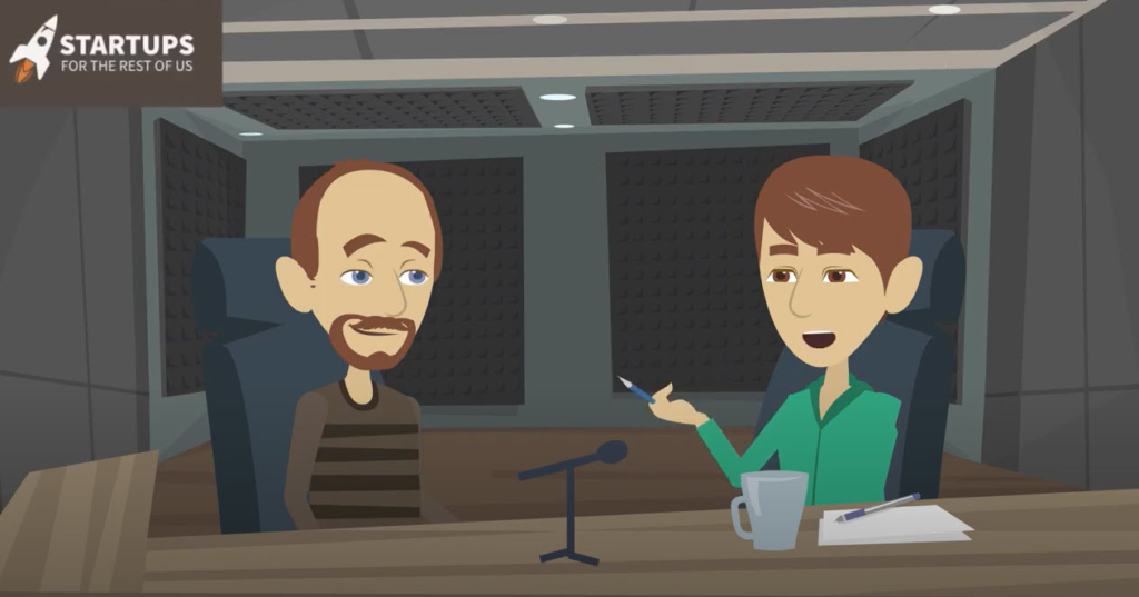 audio animation - Startups for the Rest of Us