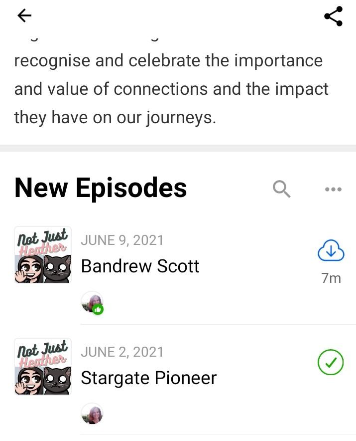 Podhero podcast page image